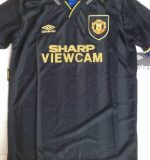 Eric Cantona Man Utd Away Shirt 93/95