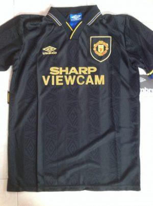 Eric Cantona Man Utd Away Shirt 93/95