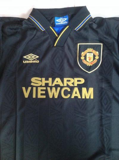 Eric Cantona Manchester Utd shirt