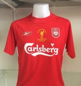 Liverpool 2005 Champions League Final Shirt