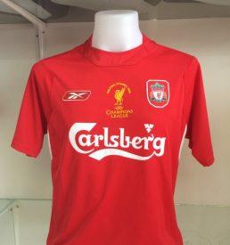 Liverpool 2005 Champions League Final Shirt