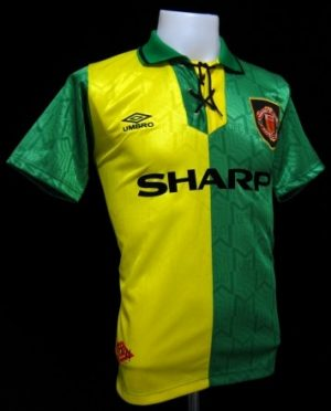 Manchester Utd Away 1992/94