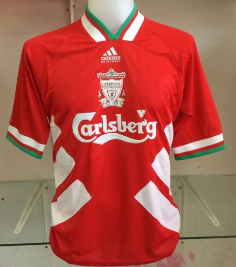 100% authentic a3716 ce426 Liverpool Home Shirt 1994