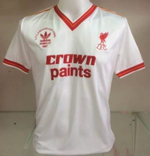 Liverpool 1987 Littlewoods Cup Final Shirt