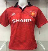 Eric Cantona Man United Home Shirt