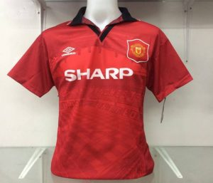 Eric Cantona Manchester United Home Shirt
