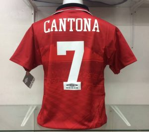 Eric Cantona Man United Home Shirt