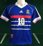 Zidane France 1998 Retro Shirt