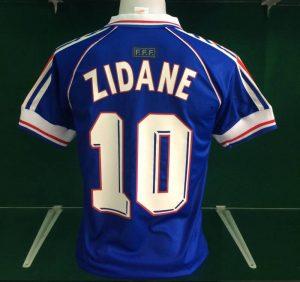 Zidane France 1998 Retro Shirt