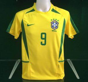 Ronaldo Brazil Home Shirt 2002