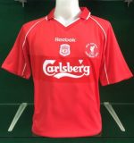 Liverpool 2001 uefa cup final shirt