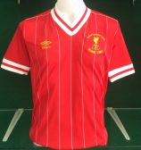 Liverpool 1984 European Cup Final Shirt