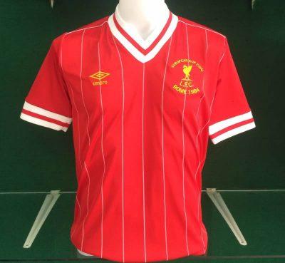 Liverpool 1984 European Cup Final Shirt