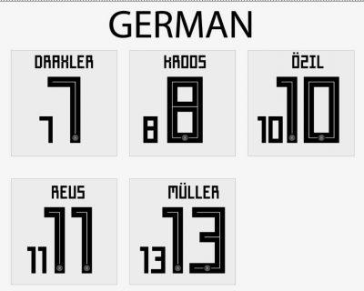 germany 2018 home shirt