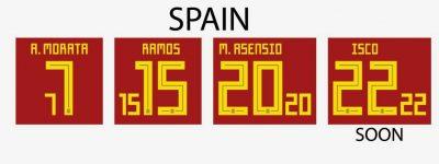 Spain World Cup 2018 Shirt