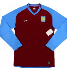 Aston Villa Home Shirt 2008/09