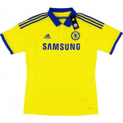 chelsea player issue away shirt