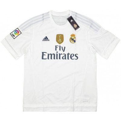 real madrid home shirt