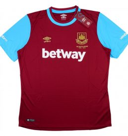 west ham home shirt
