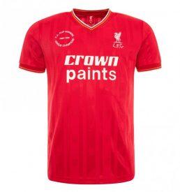 Liverpool home shirt 1985/86 season