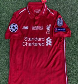 Liverpool Champions League Final Shirt 2019