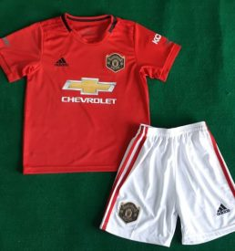 Kids Manchester United Kit 2019/20