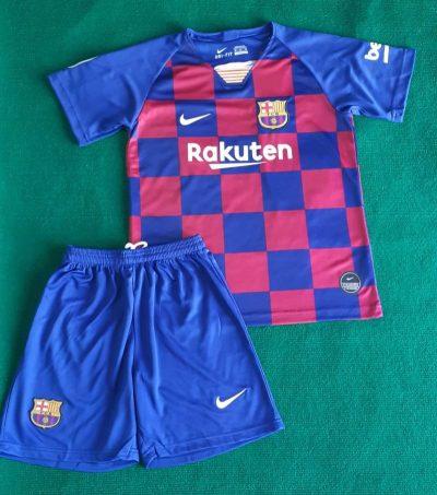 Kids Barcelona home kit