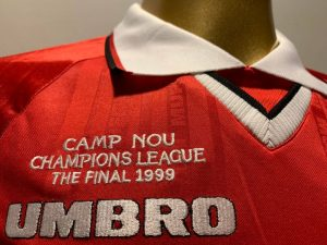 Manchester United 1999 Champions League Final Shirt
