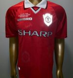 Manchester United 1999 Champions League Final Shirt