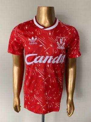 Liverpool home shirt 89/91