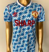 Manchester United 90/92 away shirt
