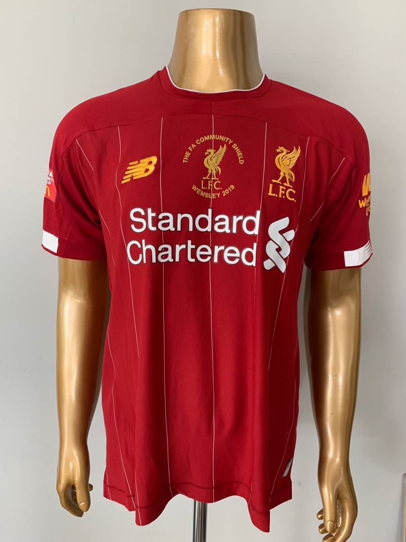 finest selection a5e46 d5970 Liverpool Community Shield Shirt 2019