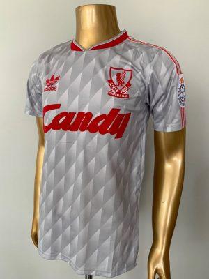 Liverpool Away Shirt 89/91