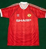 Manchester United 90/92 home shirt