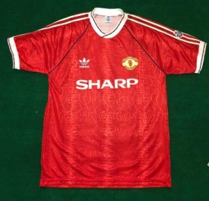 Manchester United 1990/92 home shirt
