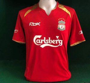 Liverpool Home Shirt 05/06