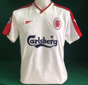 Liverpool away shirt 98/99