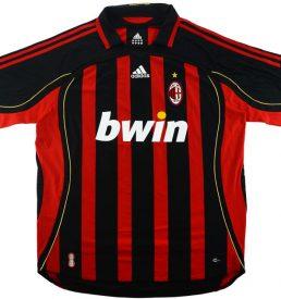 A C Milan Home Shirt 2006/07
