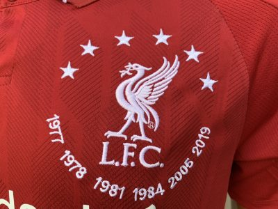 Liverpool Limited Edition shirt
