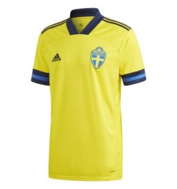 Sweden 2020 Euro Home Shirt