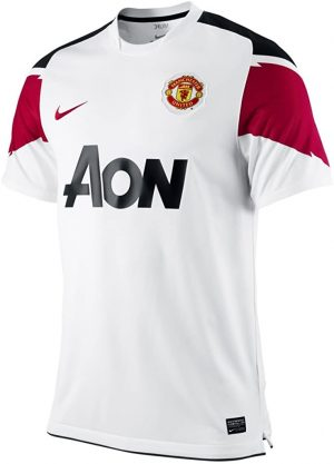Manchester United Away Shirt 2010/11