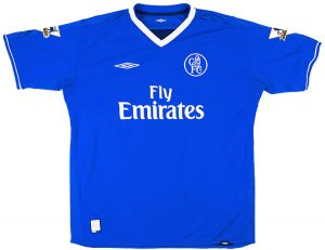 Chelsea Home Shirt 2003/05