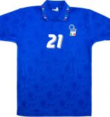 Italy 1994 World Cup Shirt