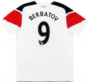Manchester United Away Shirt 2010/11