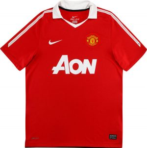 Man United Home Shirt 2010/11