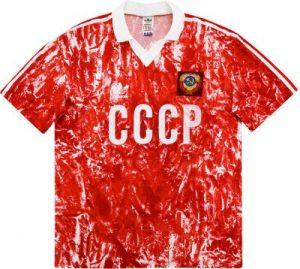 Russia 1990 World Cup Shirt