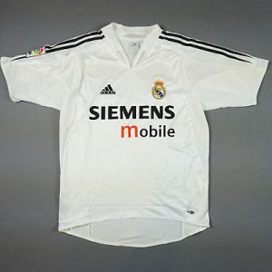Real MadridHome Shirt 2004/05