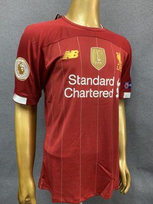 Liverpool Premier League Champions Shirt