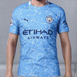 Manchester City kit 2020