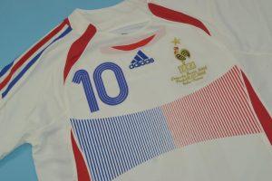 Zidane France 2006 World Cup Final Shirt